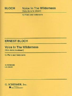 Voice in the Wilderness - BLOCH - Partition - laflutedepan.com