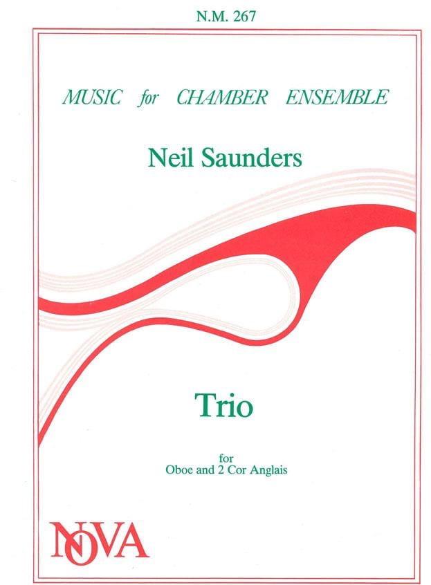 Trio - Oboe 2 Cor anglais - Score + Parts - laflutedepan.com