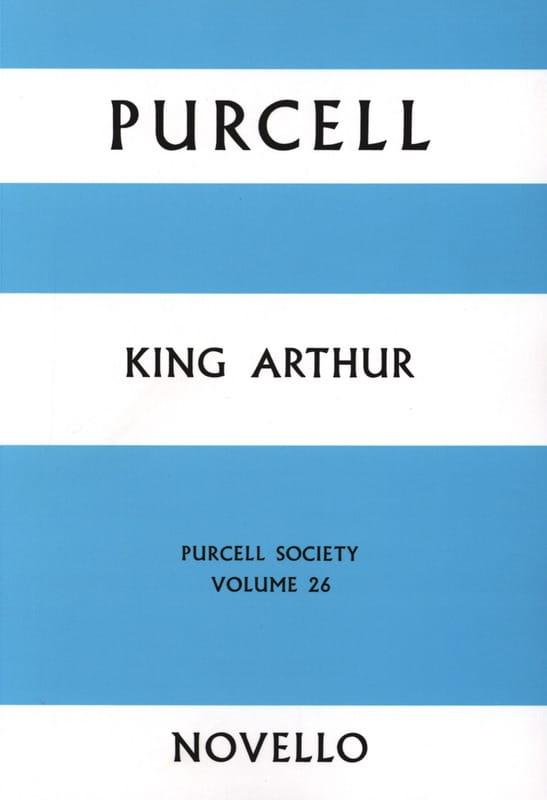 King Arthur - Score - PURCELL - Partition - laflutedepan.com