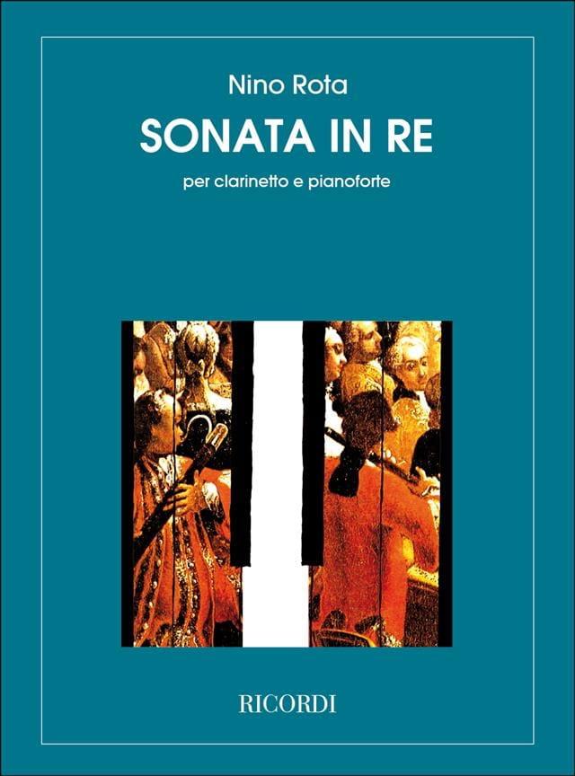 Sonata in Re - Clarinetto e pianoforte - ROTA - laflutedepan.com