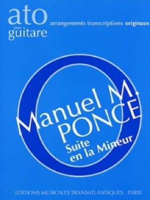 Suite en la mineur pour guitare - laflutedepan.com