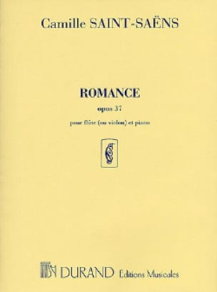 Romance op. 37 - Flûte ou violon piano - laflutedepan.com