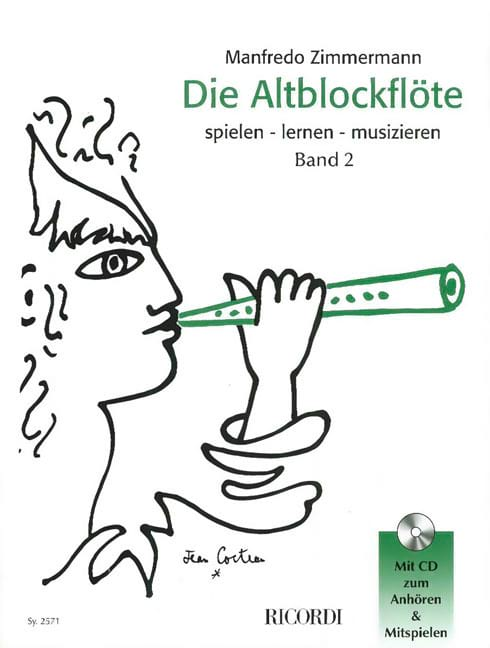 Manfredo Zimmermann - Die Altblockflöte Band 2 - Partition - di-arezzo.co.uk