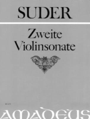 Zweite Violinsonate - Joseph Suder - Partition - laflutedepan.com