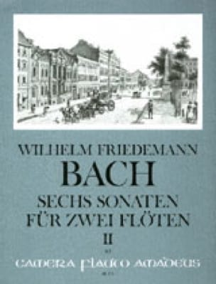 Wilhelm Friedemann Bach - 6 Sonaten, Volume 2 - 2 Flutes - Partition - di-arezzo.co.uk