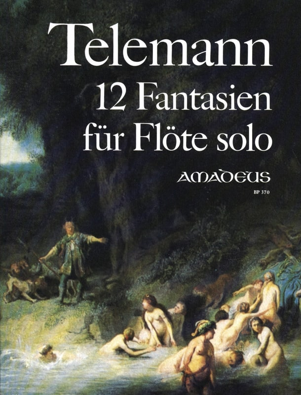 12 Fantaisies - TELEMANN - Partition - laflutedepan.com