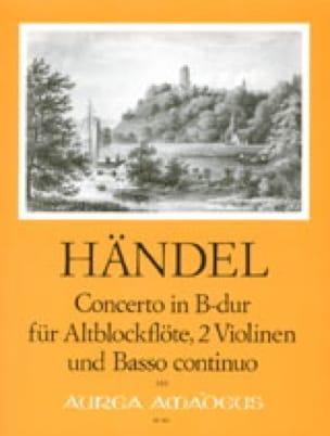 Concerto in B-Dur -Altblockflöte 2 Violinen und BC - laflutedepan.com