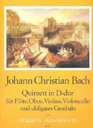 Johann Christian Bach - Quintett in D-Dur op. 22 n ° 1 - Floe Oboe Violine Cello Cembalo - Partition - di-arezzo.co.uk