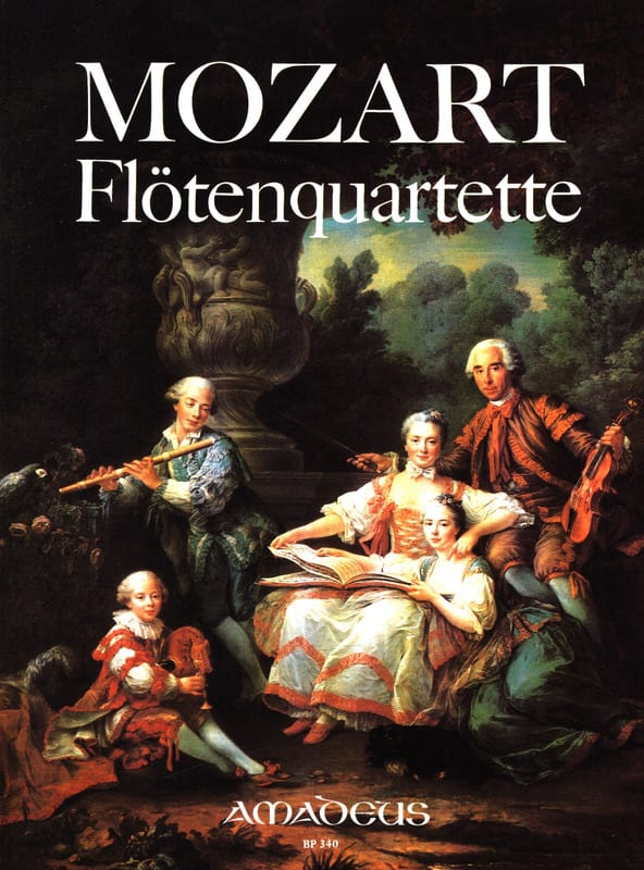 MOZART - Flötenquartette - Stimmen - Partition - di-arezzo.co.uk