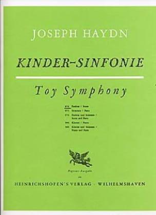 Kinder-Sinfonie - Partitur - HAYDN - Partition - laflutedepan.com