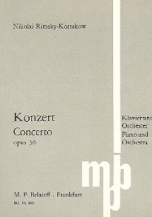 Konzert für Klavier op. 30 - Partitur - laflutedepan.com