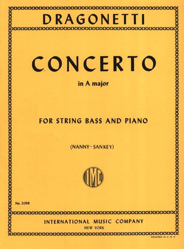 Concerto in A major - String bass - laflutedepan.com