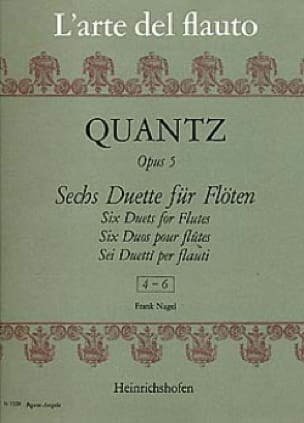 6 Duette op. 5, Nr. 4-6 - 2 Flöten - laflutedepan.com