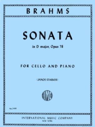 BRAHMS - Sonate en ré majeur op. 78 - Partition - di-arezzo.fr