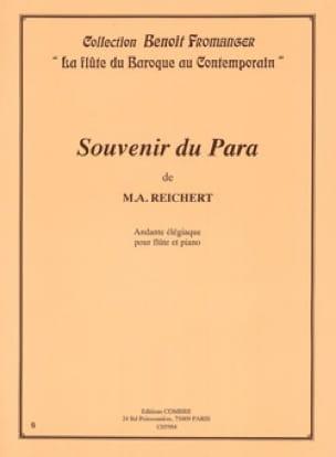 Souvenir du Para - Mathieu André Reichert - laflutedepan.com