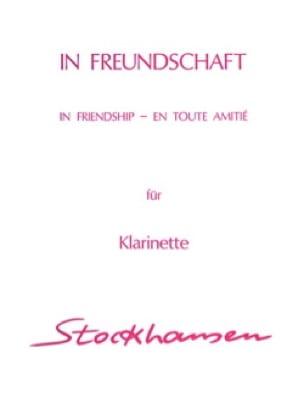 Karlheinz Stockhausen - In Freundschaft - Clarinet - Partition - di-arezzo.co.uk