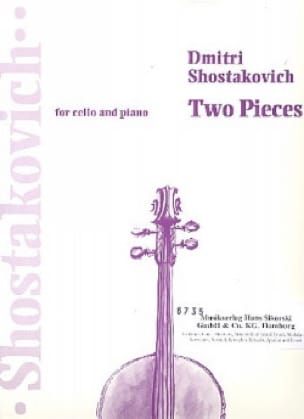 CHOSTAKOVITCH - 2 Pieces Extr. Ballet Suite N ° 2 - Partition - di-arezzo.co.uk
