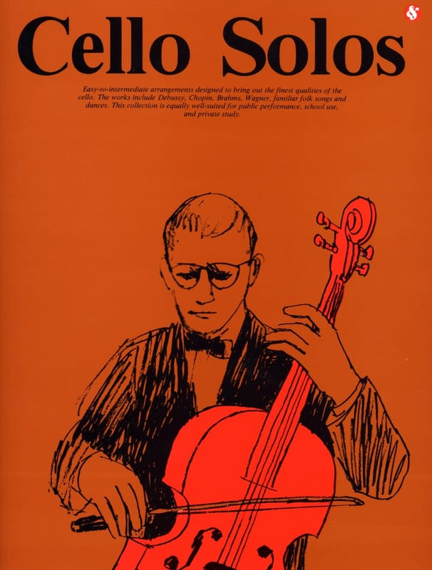 Solos Cello - Cello Solos - Partition - di-arezzo.co.uk
