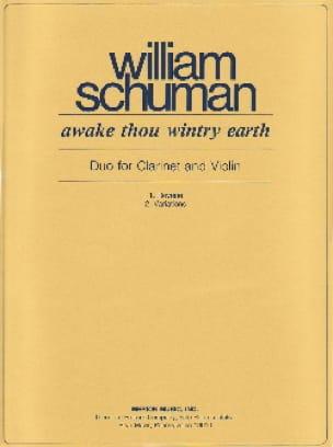Awake thou wintry earth - William Schuman - laflutedepan.com