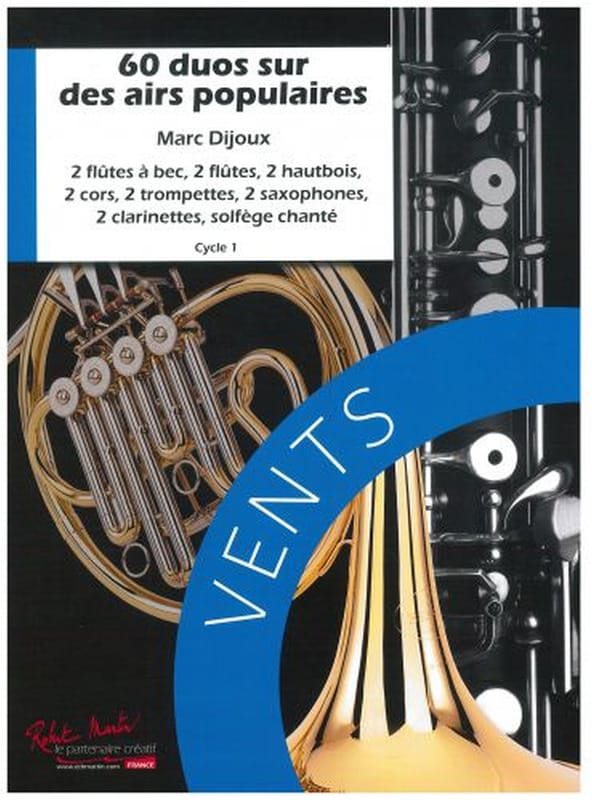 Marc Dijoux - 60 Duets on popular tunes - Partition - di-arezzo.co.uk
