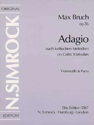 Max Bruch - Adagio op. 56 - Partition - di-arezzo.co.uk
