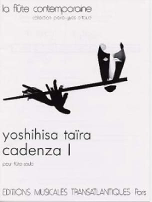 Cadenza 1 - Flûte seule - Yoshihisa Taïra - laflutedepan.com