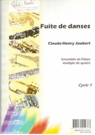 Claude-Henry Joubert - Fuite de danses - Partition - di-arezzo.fr