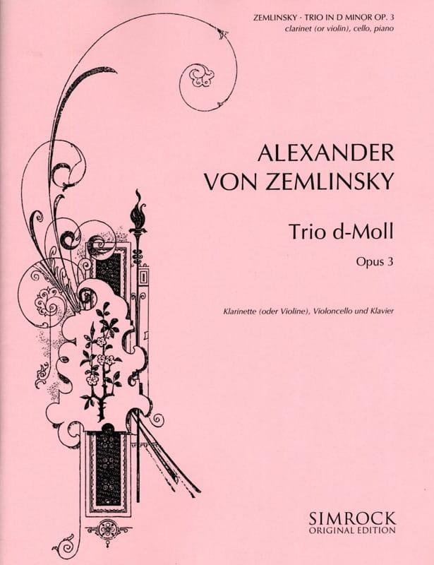 Trio d-moll op. 3 - Klarinette Violine Cello Klavier - laflutedepan.com