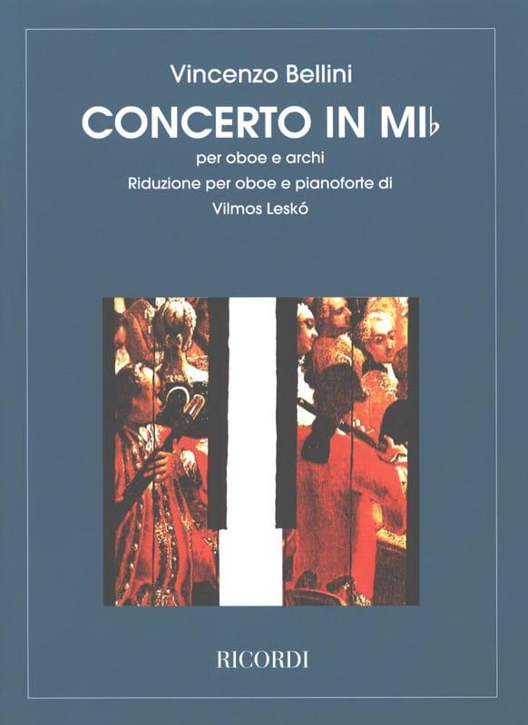 Vincenzo Bellini - Concerto In E Flat - Partition - di-arezzo.com