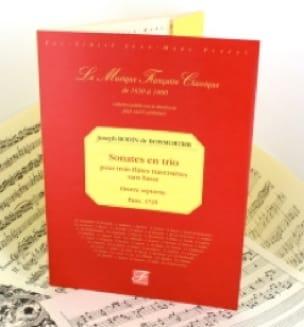 Sonates en trio 3 flûtes op. 7 - BOISMORTIER - laflutedepan.com
