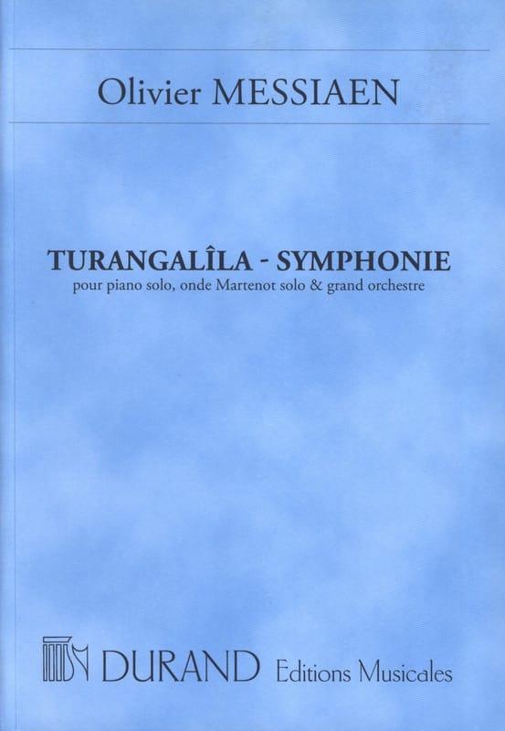Turangalîla-Symphonie - Conducteur - MESSIAEN - laflutedepan.com
