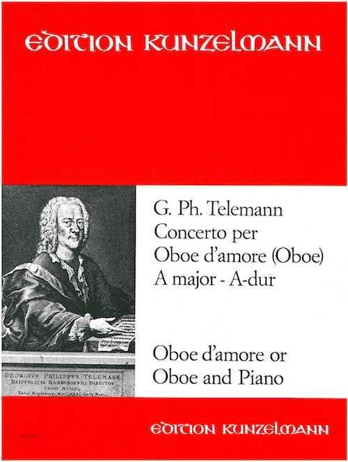 TELEMANN - Concerto for oboe d'amore A-Dur - Oboe by Amore Klavier - Partition - di-arezzo.com