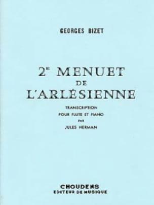 2ème Menuet de L' Arlésienne - Flûte piano - BIZET - laflutedepan.com