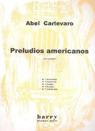 Abel Carlevaro - Preludios Americanos - Nr. 5 Tamboriles - Partition - di-arezzo.de