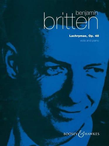 Benjamin Britten - Lachrymae op. 48 - Viola piano - Partition - di-arezzo.co.uk