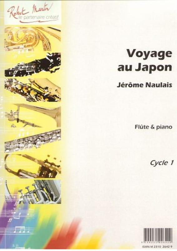 Jérôme Naulais - Travel to Japan - Partition - di-arezzo.com