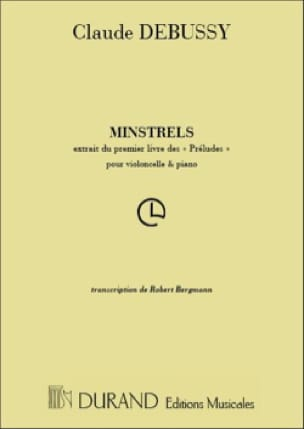 DEBUSSY - Minstrels - Partition - di-arezzo.co.uk
