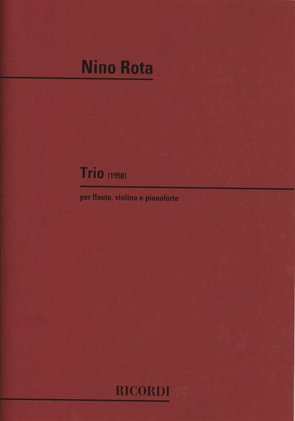 Trio 1958 -Flauto, violino e pianoforte - ROTA - laflutedepan.com