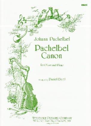 Canon -Oboe - PACHELBEL - Partition - Hautbois - laflutedepan.com