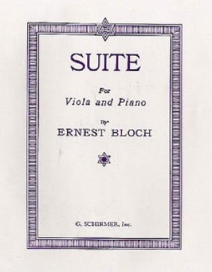 Suite for viola and piano - BLOCH - Partition - laflutedepan.com