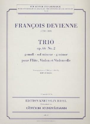 Trio op. 66 n° 2 g-moll -Stimmen - DEVIENNE - laflutedepan.com