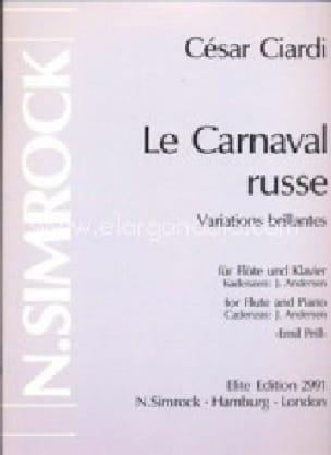 Le Carnaval Russe - Cesare Ciardi - Partition - laflutedepan.com
