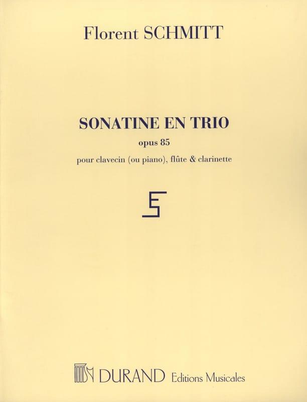 Sonatine en trio op. 85 - Florent Schmitt - laflutedepan.com