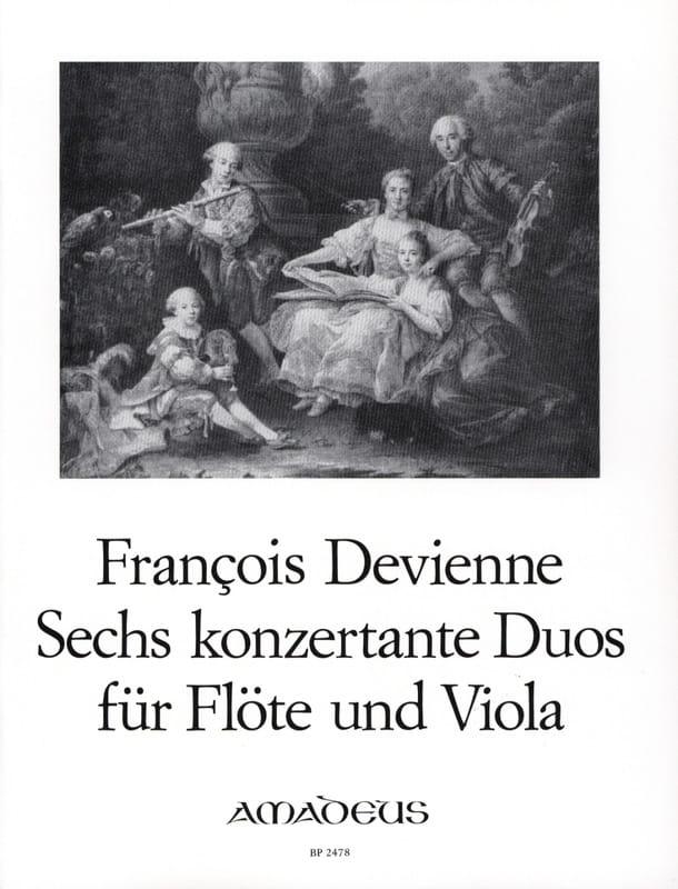 François Devienne - 6 Duos Concertants Opus 5 - Partition - di-arezzo.com