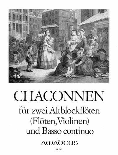 - Chaconnen - 2 Altblockflöten und Bc - Partition - di-arezzo.co.uk