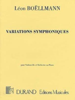 Léon Boëllmann - Symphonic Variations Op. 23 - Partition - di-arezzo.co.uk
