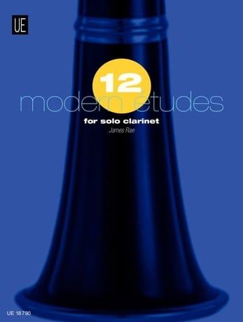 James Rae - 12 Modern Studies - Clarinet - Partition - di-arezzo.co.uk