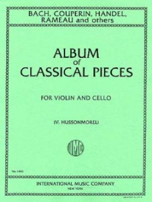 Album of classical pieces - Violin cello - laflutedepan.com