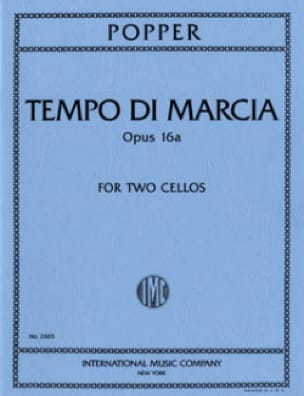 David Popper - Tempo di Marcia op. 16a - 2 Cellos - Partition - di-arezzo.com