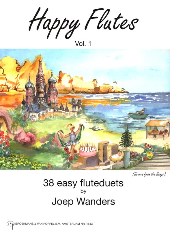 Joep Wanders - Happy Flutes Volume 1 - Partition - di-arezzo.co.uk